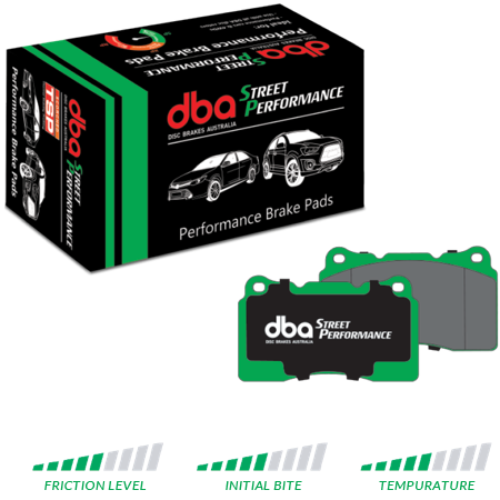 DBA Brake Pads - Street Performance