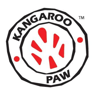 Logo de patte de kangourou